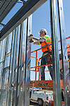 Childhood League Metal Stud Framing Job Site Photography | Corna-Kokosing