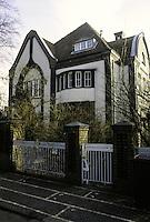 Peter Behrens: Behrens House, Darmstadt 1901.