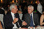 MARCO TRONCHETTI PROVERA E MAURIZIO BELPIETRO<br /> PREMIO GUIDO CARLI - SECONDA EDIZIONE<br /> RICEVIMENTO A CASINA VALADIER ROMA 2011