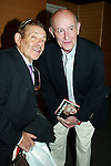 JERRY STILLER and PETER BOYLE visit Their .friend DORIS ROBERTS who's Promoting her new book, ARE YOU HUNGRY, DEAR ?.at a book signing held at Barnes & Noble, New York City..April 14, 2003.Credit All Uses.© Walter McBride / , USA.