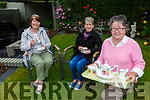 Mary Lehane front with Nora Murphy and Betty Carmody who are holding a Virtual Tea drinking fundraiser in aid of Kerry Friends of Motor Neurone