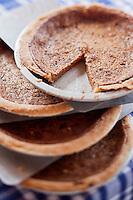 Amérique/Amérique du Nord/Canada/Québec/ Québec:  Tarte au sirop d'érable, Recette du Restaurant: Aux Anciens Canadiens, Rue Saint Louis