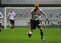 ATTENTION SPORTS PICTURE DESK<br /> Pictured: David Cotterill of Swansea<br /> Re: Coca Cola Championship, Swansea City Football Club v Plymouth Argyle at the Liberty Stadium, Swansea, south Wales. Tuesday 08 December 2009