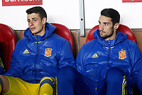 Spain's Kepa Arrizabalaga (l) and Sergio Rico during FIFA World Cup 2018 Qualifying Round match. March 24,2017.(ALTERPHOTOS/Acero) /NortePhoto.com
