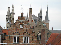 Rooftops of Brugge