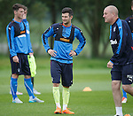 Jason Holt training with Rangers
