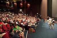 Seattle, Washington - Monday, June 10, 2013: Rally for the USMNT Panama WC qualifying match.