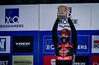 Eli Iserbyt (BEL/Pauwels Sauzen-Bingoal) wins the 2020 Koppenbergcross.<br /> <br /> Koppenbergcross 2020 (BEL)<br /> men's race<br /> <br /> ©kramon