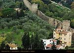 Michelangelo Wall Bardini Gardens Monte alla Croci Florence