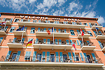 France, Provence-Alpes-Côte d'Azur, Villefranche-sur-Mer: famous Welcome Hotel | Frankreich, Provence-Alpes-Côte d'Azur, Villefranche-sur-Mer: das bekannte Welcome Hotel