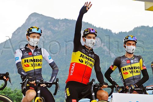 4th July 2021; Tignes, France;  VAN AERT Wout (BEL) of JUMBO-VISMA during stage 9 of the 108th edition of the 2021 Tour de France cycling race, a stage of 144,9 kms between Cluses and Tignes on July 4