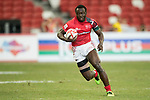 Billy Odhiambo of Kenya in action during the match New Zealand vs Kenya, Day 2 of the HSBC Singapore Rugby Sevens as part of the World Rugby HSBC World Rugby Sevens Series 2016-17 at the National Stadium on 16 April 2017 in Singapore. Photo by Victor Fraile / Power Sport Images