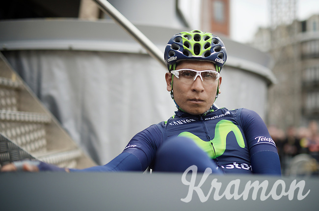 Nairo Quintana (COL/Movistar) before the race<br /> <br /> 101th Liège-Bastogne-Liège 2015