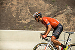 Adam de Vos (CAN) Rally-UHC from the breakaway during Stage 6 of the 10th Tour of Oman 2019, running 135.5km from Al Mouj Muscat to Matrah Corniche, Oman. 21st February 2019.<br /> Picture: ASO/Kåre Dehlie Thorstad | Cyclefile<br /> All photos usage must carry mandatory copyright credit (© Cyclefile | ASO/Kåre Dehlie Thorstad)
