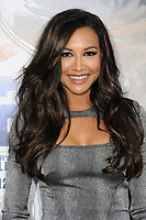 "13 July 2020 - Naya Rivera, the actress best known for playing cheerleader Santana Lopez on Glee, has been confirmed dead. Rivera, 33, is believed to have drowned while swimming in the lake with her 4-year-old son, who was found asleep on their rental pontoon boat after it was overdue for return. 9 April 2013 - Hollywood, California - Naya Rivera. ""42"" Los Angeles Premiere held at the TCL Chinese Theatre. Photo Credit: Byron Purvis/AdMedia"