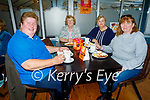 Supporting the Hospice Coffee evening in the Banna Beach Hotel on Thursday, l to r: Bernadette O'Sullivan (Abbeydorney), Breda O'Connor, Elaine Fitzgerald and Joan Kelly (Ardfert).