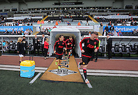 Pictured: Wayne Rooney exits the tunnel Sunday 30 August 2015<br /> Re: Premier League, Swansea v Manchester United at the Liberty Stadium, Swansea, UK