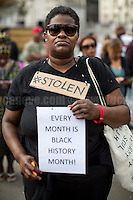 "21.08.2016 - ""Slavery Remembrance National Memorial Service - Trafalgar Sq."""