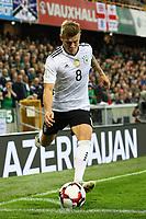 Ecke Toni Kroos (Deutschland Germany) - 05.10.2017: Nordirland vs. Deutschland, WM-Qualifikation Spiel 9, Windsor Park Belfast
