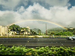 Rainbow Over Honolulu