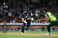 20th December 2020; Hamilton, New Zealand;  Martin Guptill,  New Zealand Black Caps versus Pakistan, International Twenty20 Cricket. Seddon Park, Hamilton, New Zealand.