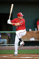 Harrisburg Senators first baseman Ryan Zimmerman (31), on a rehab assignment from the Washington Nationals, at bat during a game against the New Hampshire Fisher Cats on July 21, 2015 at Metro Bank Park in Harrisburg, Pennsylvania.  New Hampshire defeated Harrisburg 7-1.  (Mike Janes/Four Seam Images)
