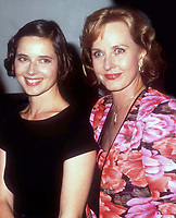 Ingrid, Isabella Rossellini & mom Pia Lindstrom 1989<br /> Photo by Adam Scull/PHOTOlink