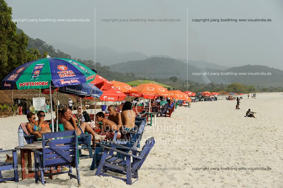 SIERRA LEONE, Freetown, beach river No. 2