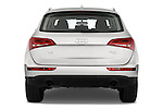 Straight rear view of a 2009 - 2012 Audi Q5 Ambiente 5 Door Suv 4WD
