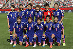 Women's Japan National team group line-up (JPN), JULY 1, 2015 - Football / Soccer : FIFA Women's World Cup Canada 2015 Semi-final match between Japan and England at Commonwealth Stadium in Edmonton, Canada. (Photo by Yusuke Nakanishi/AFLO SPORT)