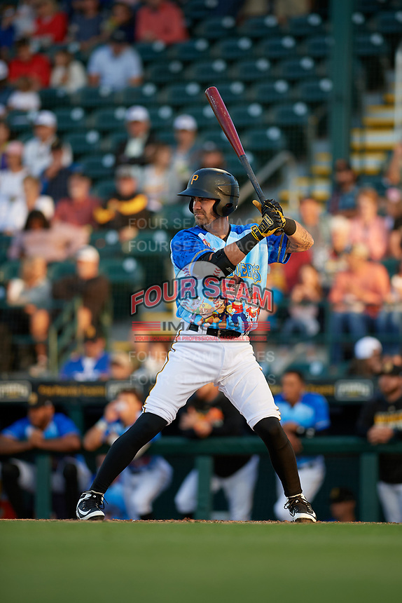 Bradenton Marauders Nick Franklin (35) during a Florida State League game against the Jupiter Hammerheads on April 20, 2019 at LECOM Park in Bradenton, Florida.  Bradenton defeated Jupiter 3-2.  (Mike Janes/Four Seam Images)