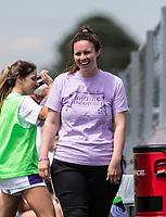 Stephanie Pierce head girls soccer coach for St. Mary's Academy at Wildcat Stadium, Springdale, Arkansas, Friday, May 14, 2021 / Special to NWA Democrat-Gazette/ David Beach