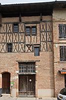 Europe/France/Midi-Pyérénées/82/Tarn-et-Garonne/Beaumont-de-Lomagne:  Demeure de Jean d'Armagnac XV éme siècle