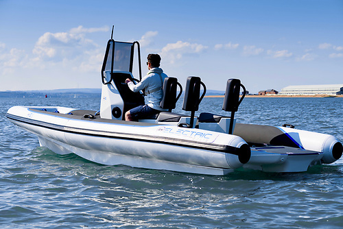 RS are claiming this is the world's first electric RIB with a fully integrated electric drive
