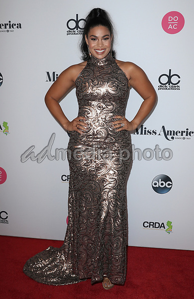 10 September 2017 - Atlantic City, NJ-   Jordin Sparks.  2018 Miss America Pageant Red Carpet Arrivals at Boardwalk Hall.  Photo Credit: MJT/AdMedia