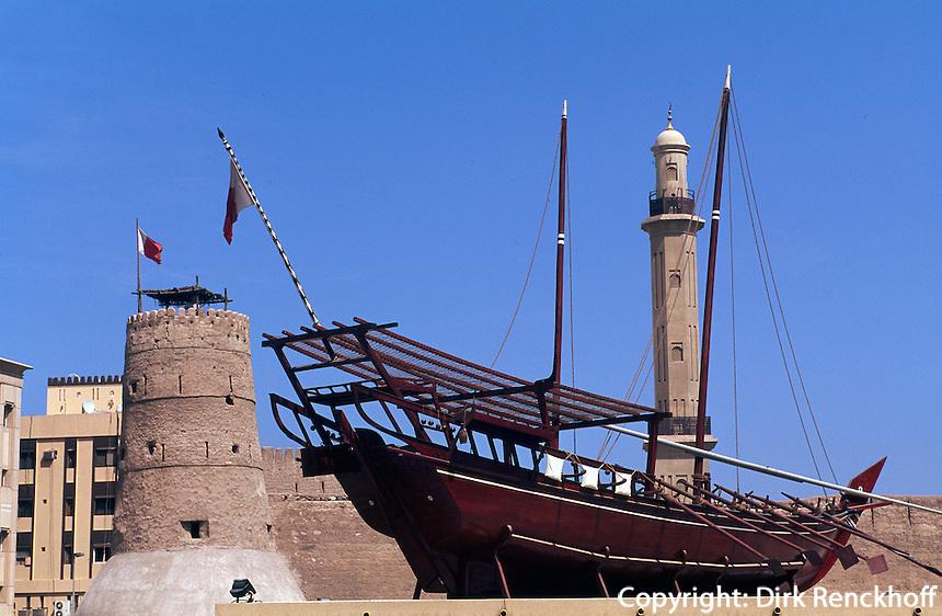 Vereinigte arabische Emirate (VAE, UAE), Dubai, Dubai Museum