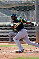 Rashun Dixon  - Oakland Athletics - 2009 extended spring training.Photo by:  Bill Mitchell/Four Seam Images