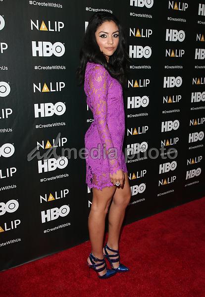 24 June 2017 - Hollywood, California - Bianca Santos. 2017 NALIP Latino Media Awards held at W Hollywood. Photo Credit: F. Sadou/AdMedia
