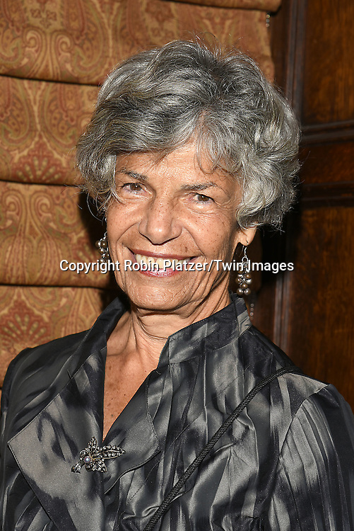 honoree Susan Stamberg attends the Library of American Broadcasting  Annual Giants of Broadcasting Luncheon on October 6, 2016 at Gotham Hall in New York City. <br /> <br /> photo by Robin Platzer/Twin Images<br />  <br /> phone number 212-935-0770