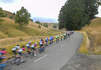 Stage four of the NZ Cycle Classic UCI Oceania Tour (Te Wharau-Admiral Hill Queen Stage) in Wairarapa, New Zealand on Saturday, 18 January 2020. Photo: Dave Lintott / lintottphoto.co.nz