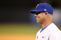 """Florida Gators Kevin O'Sullivan #7 during a game vs. the Florida State Seminoles in the """"Florida Four"""" at George M. Steinbrenner Field in Tampa, Florida;  March 1, 2011.  Florida State defeated Florida 5-3.  Photo By Mike Janes/Four Seam Images"""