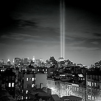 """Tribute in Light"" Memorial for the World Trade Center<br />"