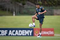 12th November 2020; Granja Comary, Teresopolis, Rio de Janeiro, Brazil; Qatar 2022 World Cup qualifiers; Thiago Silva of Brazil during training session