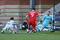 Conor Wilkinson of Leyton Orient goes close during Leyton Orient vs Forest Green Rovers, Sky Bet EFL League 2 Football at The Breyer Group Stadium on 23rd January 2021