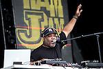 © Joel Goodman - 07973 332324 . . 12/06/2016 . Manchester , UK . De La Soul perform on the Ram Jam stage at the Parklife music festival at Heaton Park in Manchester . Photo credit : Joel Goodman