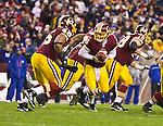 Redskins Quarterback Hands Off