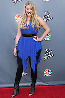 """UNIVERSAL CITY, CA, USA - APRIL 15: Dani Moz at NBC's """"The Voice"""" Season 6 Top 12 Red Carpet Event held at Universal CityWalk on April 15, 2014 in Universal City, California, United States. (Photo by Xavier Collin/Celebrity Monitor)"""