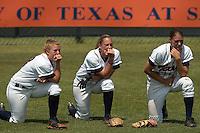 SAN ANTONIO, TX - APRIL 22, 2006: The University of Louisiana at Monroe Warhawks vs. The University of Texas at San Antonio Roadrunners Softball at Roadrunner Field. (Photo by Jeff Huehn)