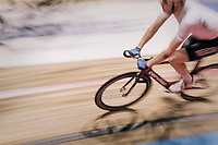 speeding at the 'Kuipke' velodrome<br /> <br /> Ghent 6day<br /> Belgium 2017