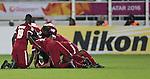 Qatar vs China PR during the AFC U-22 Mens Championship Qatar 2016 Group A match on January 12, 2016 at the Abdullah Bin Khalifa Stadium in Doha, Qatar. Photo by Fadi Al Assaad / Power Sport Images